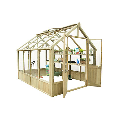 Image for Forest Vale Wooden Greenhouse - 10x8ft from StoreName
