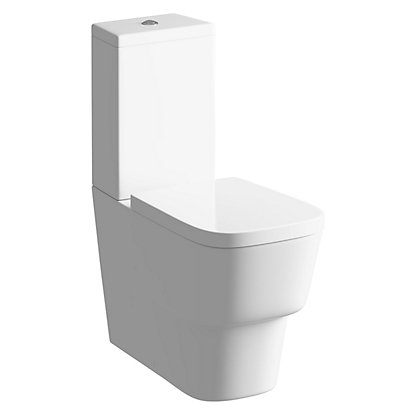 Image for Sparkle Close Coupled Toilet and Soft Close Seat from StoreName