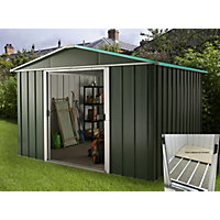 Hercules Metal Shed & Floor Frame - 10x8ft