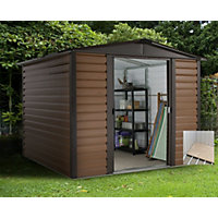 Yardmaster Woodgrain Shed & Floor Frame - 6x6ft