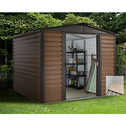 Image for Yardmaster Woodgrain Shed & Floor Frame - 6x6ft from StoreName