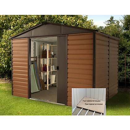 Image for Yardmaster Woodgrain Shed & Floor Frame - 10x6ft from StoreName