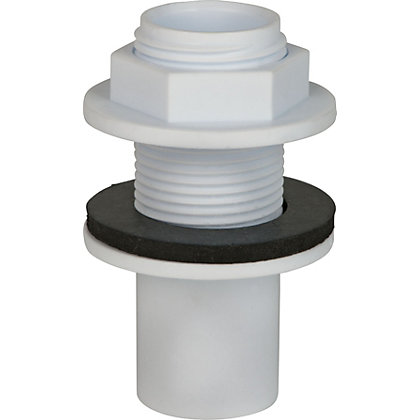 Image for Overflow Straight Tank Connector 22mm from StoreName