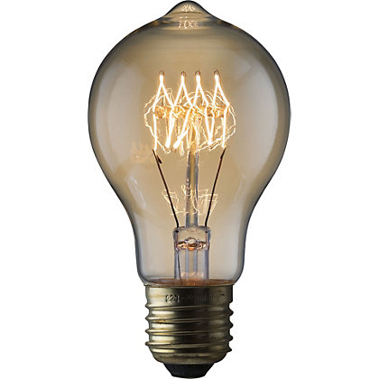 Image for Rustic Classic 60W E27 Dimmable Light Bulb from StoreName