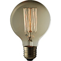 Rustic Globe 60W E27 Dimmable Light Bulb