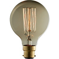 Rustic Globe 60W B22 Dimmable Light Bulb