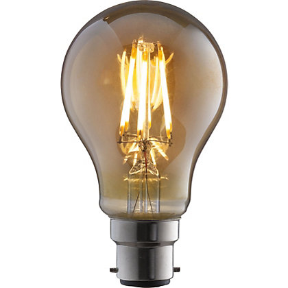 Image for LED Filament Classic 6W B22 Vintage Light Bulb from StoreName