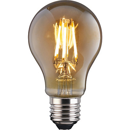Image for LED Filament Classic 6W E27 Vintage Light Bulb from StoreName