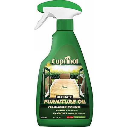Image for Cuprinol Hardwood Garden Furniture Oil - 500ml from StoreName