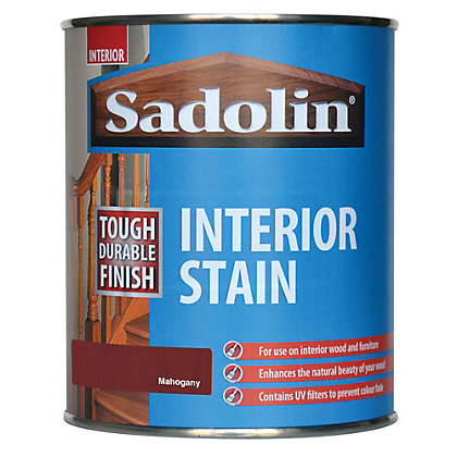 Image for Sadolin Interior Stain - Mahogany - 750ml from StoreName
