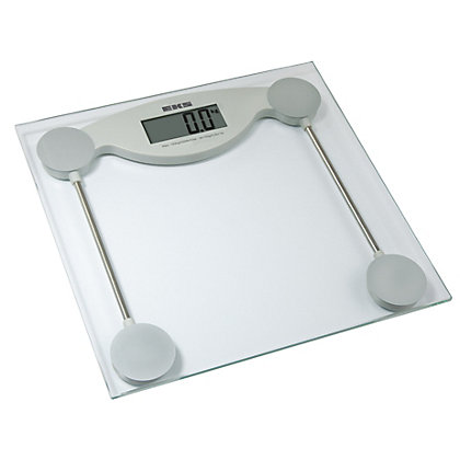 Image for EKS Glass Electronic Bathroom Scale from StoreName