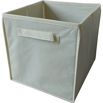 Image for Non-Woven Storage Box - Cream from StoreName