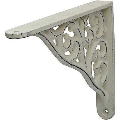 Image for Baroque Bracket - White - Small from StoreName