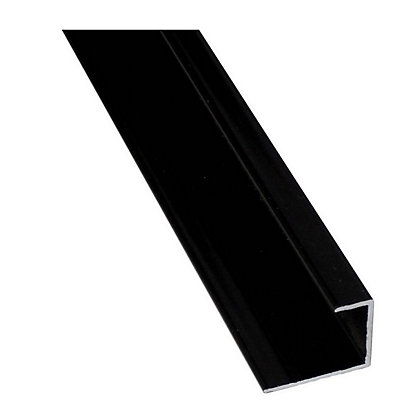 Image for Stormwall End Cap Wall Tile- Black from StoreName