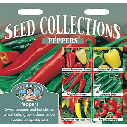 Image for Peppers Collection (Capsicum Annuus) Seeds from StoreName