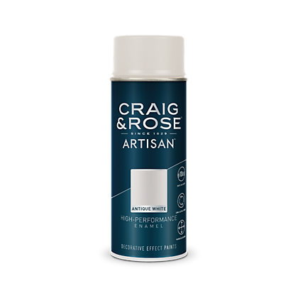 Image for Craig & Rose Artisan High Performance Enamel Gloss - Antique White - 400ml from StoreName