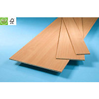 Furniture Board - Beech - 2440 x 457 x 15mm