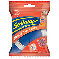 Sellotape Double Sided Tape -Translucent - 25mm x 33m