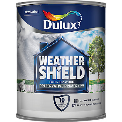 Image for Dulux Weathershield - Exterior Preservative Primer - 750ml from StoreName