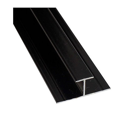 Image for Stormwall H Joint Wall Tile- Black from StoreName