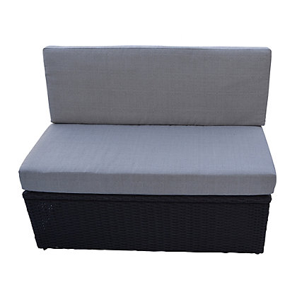 Image for Canadian Spa Rattan Square Spa Love Seat from StoreName