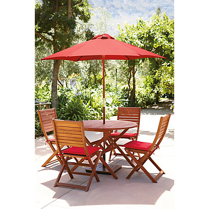 Image for Peru Round Garden Furniture Set - 4 Seater from StoreName