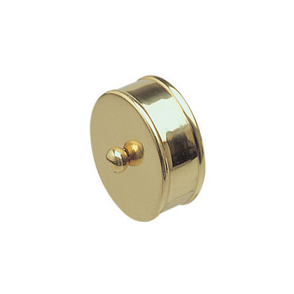 Image for Richard Burbidge End Caps Medium Brass - Pack of 2 from StoreName