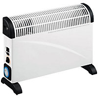 Convector Heater with Thermostatic Control, Timer and Turbo Fan - 2kW