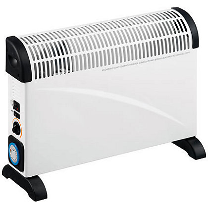 Image for Convector Heater with Thermostatic Control, Timer and Turbo Fan - 2kW from StoreName