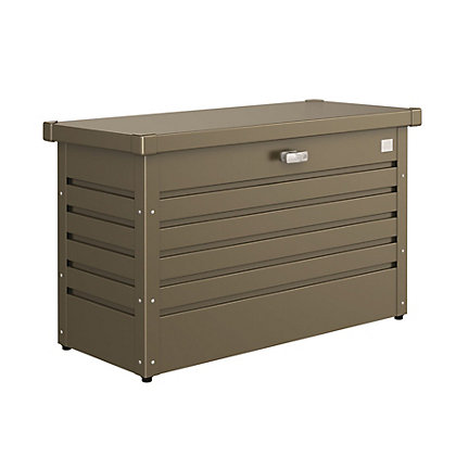 Image for Biohort Leisure Time Bronze Metal Garden Storage Box - 100M from StoreName