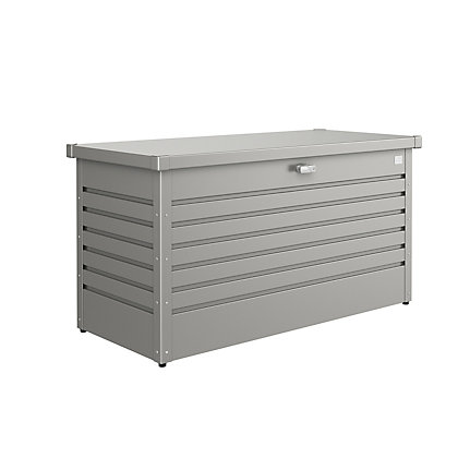 Image for Biohort Leisure Time Quartz Grey Metal Garden Storage Box - 30M from StoreName