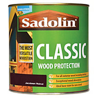 Sadolin Classic Woodstain - Jacobean Walnut - 1L