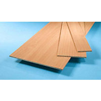 Furniture Board - Beech - 2440 x 610 x 15mm