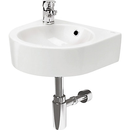 Image for Nano Left Hand Wall Hung Basin - 40cm from StoreName