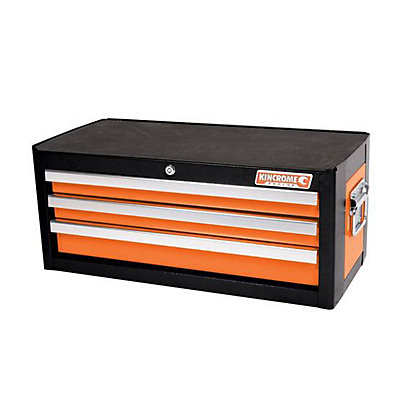 Image for Kincrome Evolve Add On Tool Chest 3 Drawer Flame Orange from StoreName