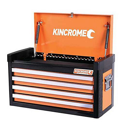 Image for Kincrome Evolve Tool Chest 4 Drawer Flame Orange from StoreName