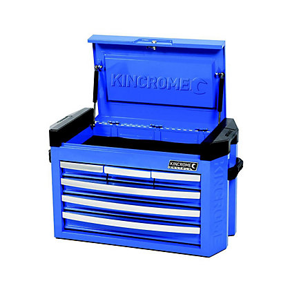 Image for Kincrome Contour Tool Chest 6 Drawer Slimline Electric Blue from StoreName