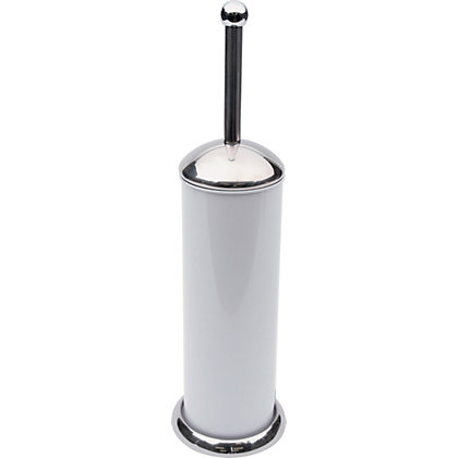 Image for Bullet Toilet Brush - White from StoreName