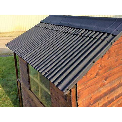 Image for Watershed Roofing Kit for 5x7ft Apex Shed from StoreName
