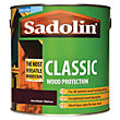 Sadolin Classic Woodstain - Jacobean Walnut - 2.5L