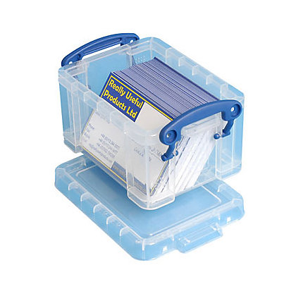 Image for Really Useful Storage Box - Clear - 0.3L from StoreName