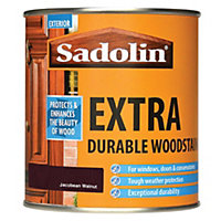Sadolin Extra Durable Woodstain - Jacobean Walnut - 500ml