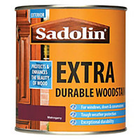 Sadolin Extra Durable Woodstain - Mahogany - 500ml