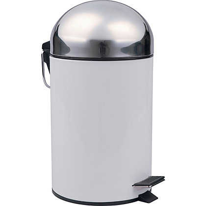 Image for 3L Bullet Bin - White from StoreName