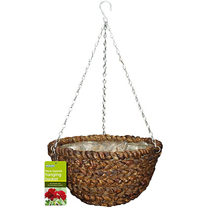 Image for Artificial Water Hyacinth Hanging Basket - 14in from StoreName