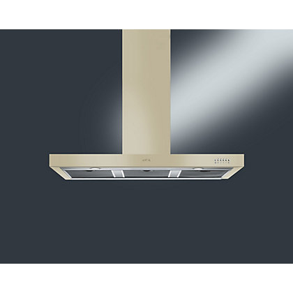 Image for Smeg KSE110P9 Chimney Hood - Glossy Black from StoreName