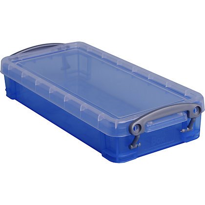Image for Really Useful Storage Box - Blue - 0.55L from StoreName