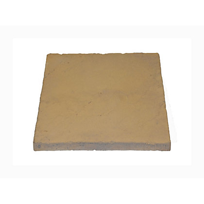 Image for Brett Walton Paving Single Size Patio Pack 450x450mm 13.54 sqm 64 Pack - Honey Gold from StoreName