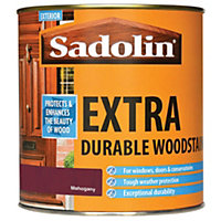 Sadolin Extra Durable Woodstain - Mahogany - 1L