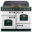 Rangemaster Classic 73670 110 Natural Gas Cooker-  Blanc